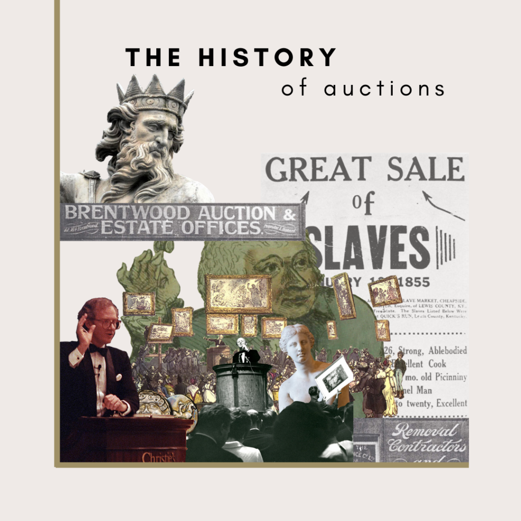 history of auctions