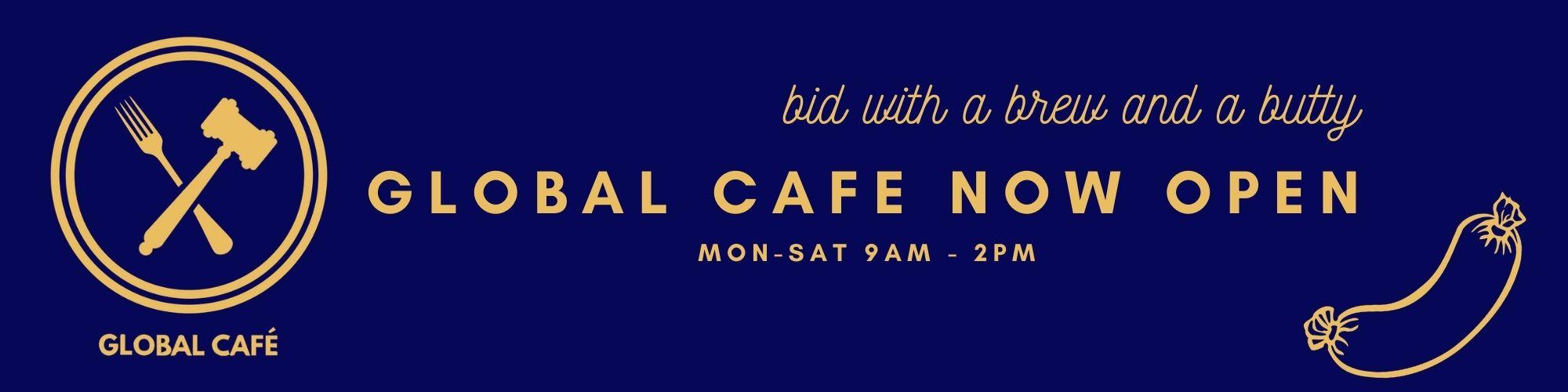 Global Cafe banner